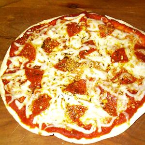 Tortilla Pizza | Reloved Recipes by Karen