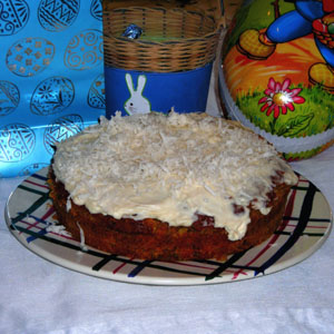 Swedish Carrot Cake Morotskaka Recipe